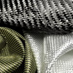 Illustrasjon av Carbon, glassfiber og aramid